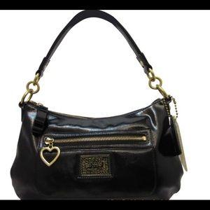 COACH Patent Leather Poppy/Daisy Bag
